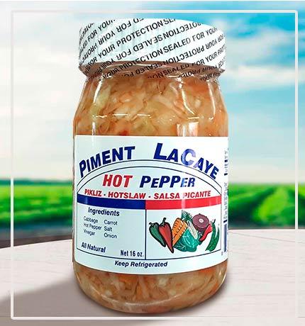 Piment Lacaye Pikliz 16 oz